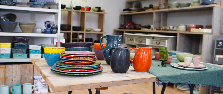 glazuur aardewerk winkel