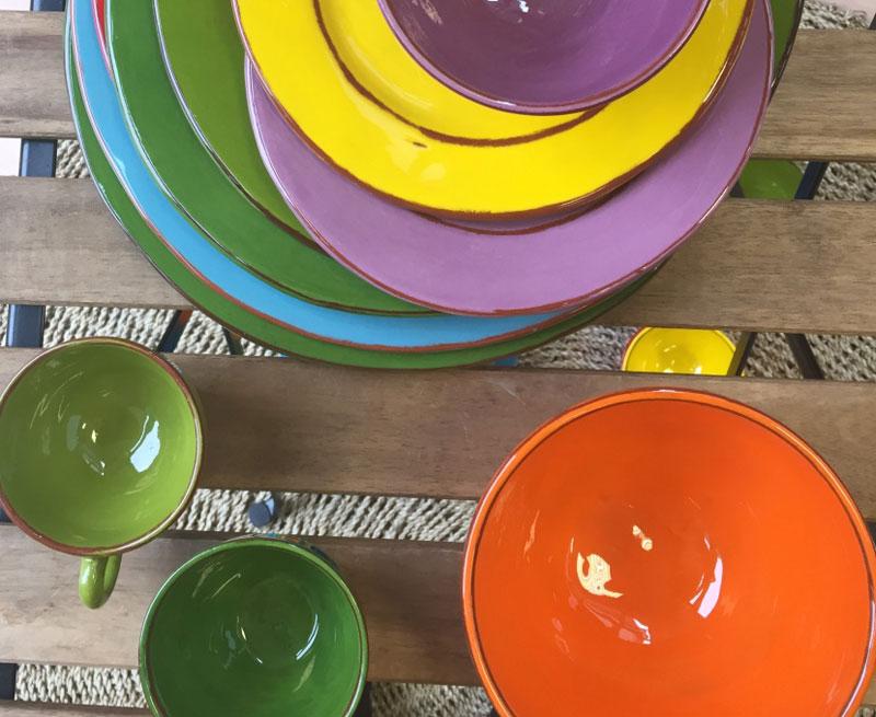 glazuur aardewerk archipel et couleurs